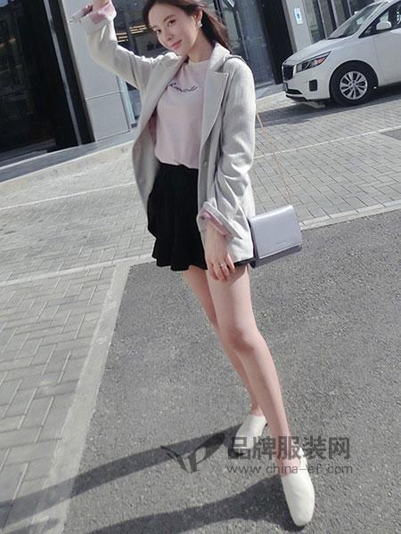 润乙一女装2018春夏新款韩版洋气西服短裤休闲职业装