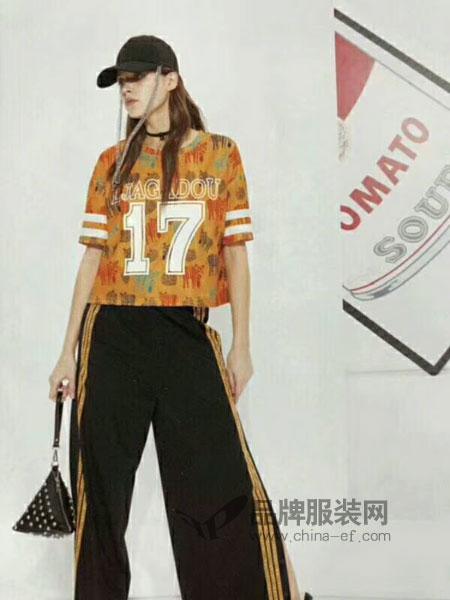 粤韵女装2018春夏淑女时尚气质小香风休闲修身显瘦时髦套装