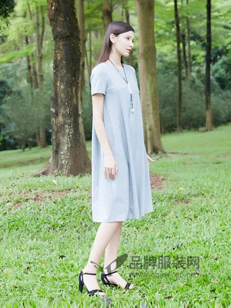 茉诗可可女装2018春夏休闲直筒连衣裙气质显瘦2018新款春宽松