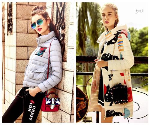 专柜品牌折扣直播货源宝莱国际羽绒服|宝莱国际羽绒服折扣批发
