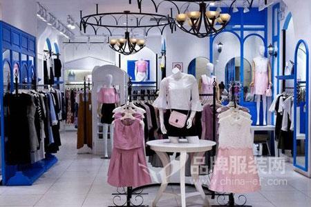 北京惠品名品折扣女装店铺展示
