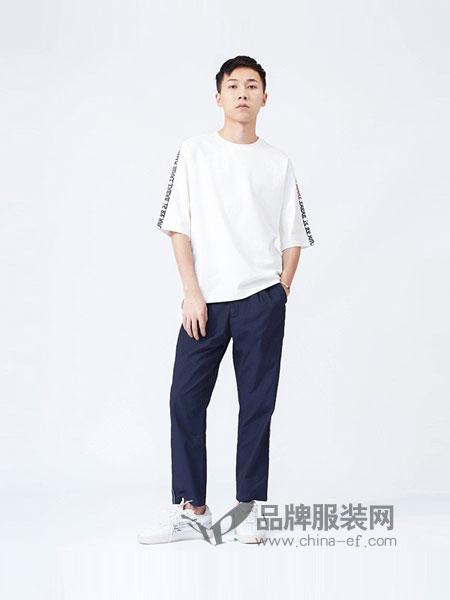 M-graph男装2018春夏新品时尚简约宽松T恤短袖圆领半袖上衣