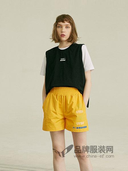 有瘾女装2018春夏新款大码圆领字母背心半身裙时尚两件套