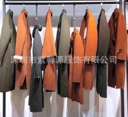 慧之芳羊绒大衣女装2017冬季新品