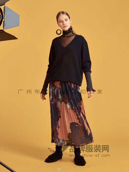 广州白云区一线品牌服装批发女装库存货源走份批发