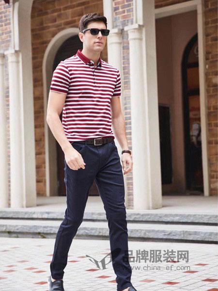 迪拉格DELAGE/古尔威登COOLVUITTION男装2018春夏新款舒适透气商务休闲T恤