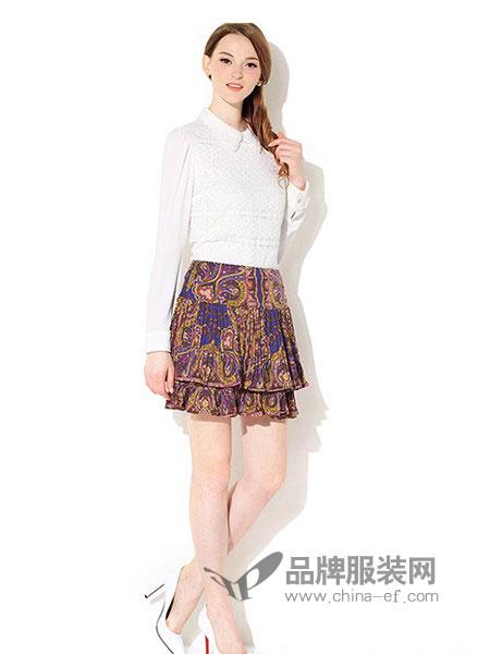 典云间女装2018春夏修身显瘦高领长袖加绒加厚蕾丝打底衫