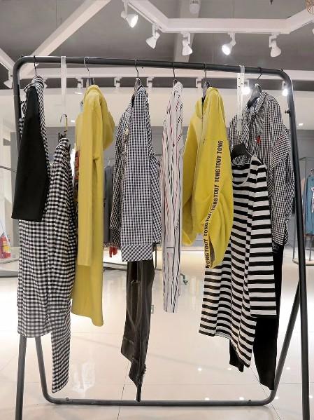 杭州品牌女装尾货  高端专柜剪标女装韩序尾货