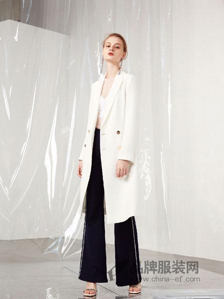 游悦YOEYYOU女装2018春夏新款白色百搭修身马甲外套