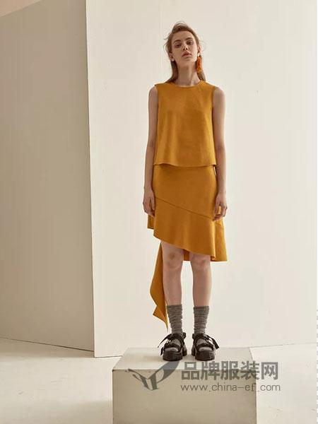 LU JOE女装2018秋季时尚内搭雪纺衫圆领百搭吊带衫背心