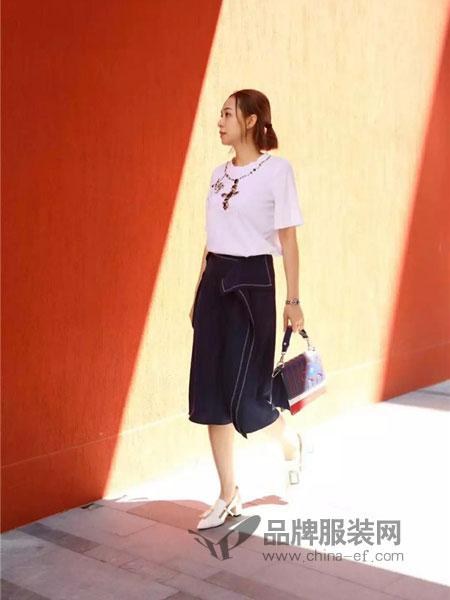 MyTeno女装2018秋季新款韩版高腰紧身显瘦气质