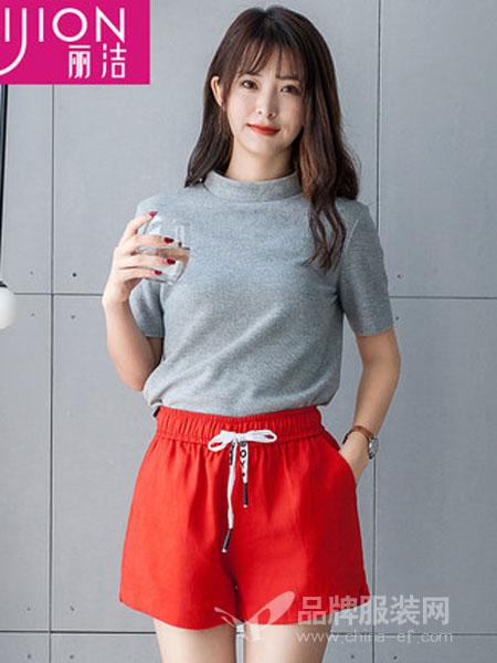 丽洁服饰女装2018夏季三分裤宽松休闲裤韩版热裤
