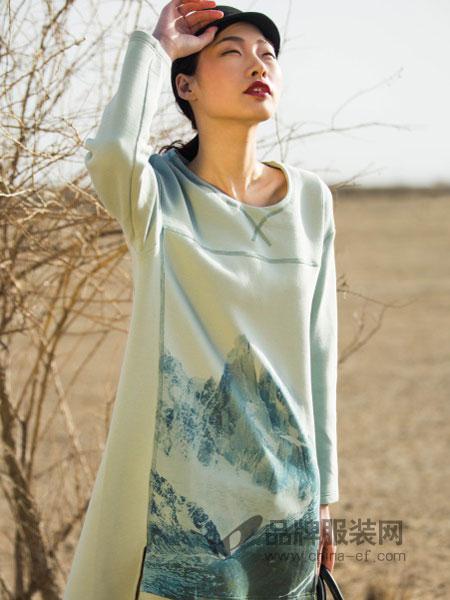 席牌女装2018秋季中国风气质旗袍 中长款 短袖修身 印花 连衣裙