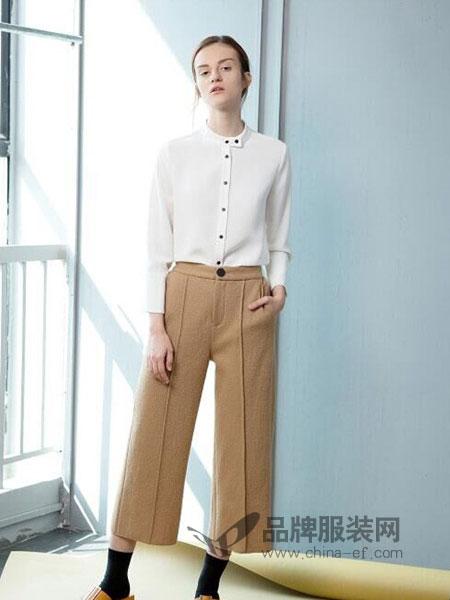 Zry Creative女装2018秋冬新款韩版大码高腰休闲裤