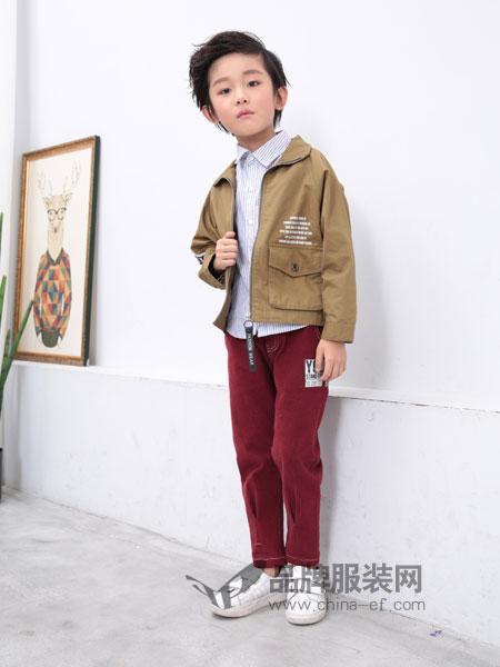 小马嘟嘟童装2018秋冬新款韩版休闲男孩童装潮