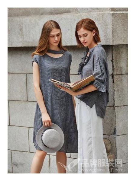 撒尼女装2018夏季时尚V领上衣