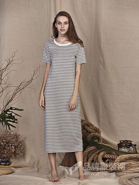艾米尔女装2018夏季时尚连衣裙