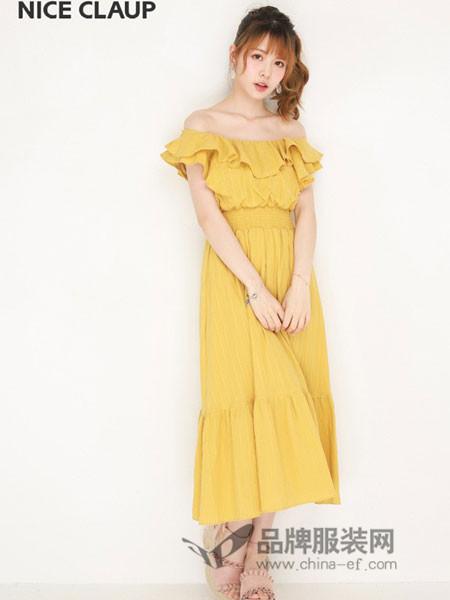 NiceClaup女装2018夏季时尚连衣裙