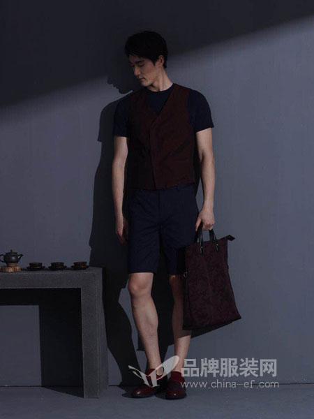 卡尔丹顿男装2018春夏圆领纯色青少年型男休闲短袖t恤