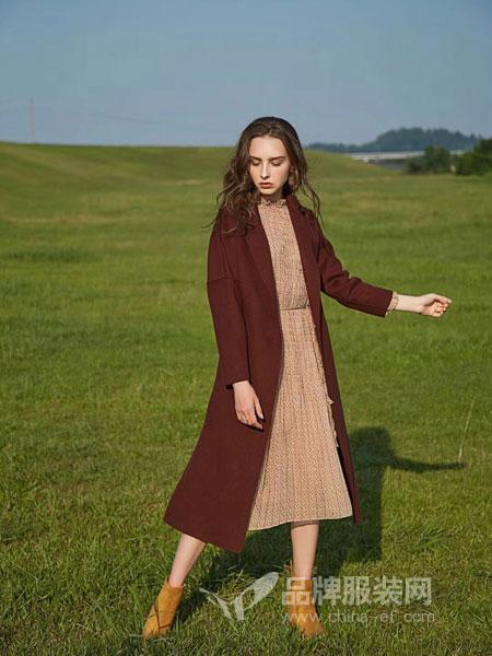 司合伊女装2018秋冬宽松中长款韩版粗毛线新款套头针织衫毛衣裙