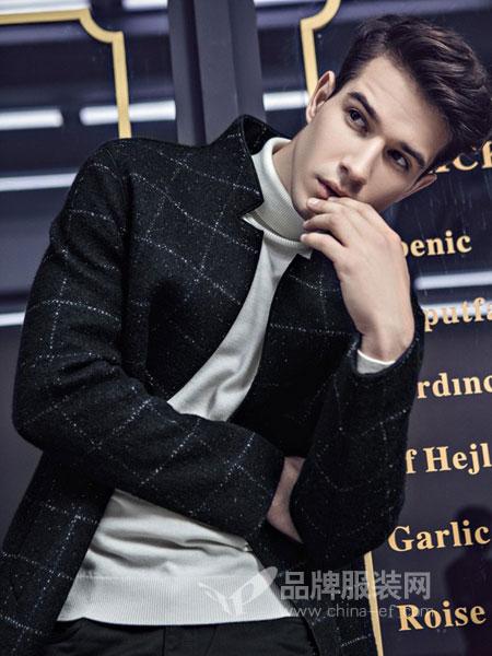 贝克狮丹男装2018秋冬外套修身韩版青少年帅气百搭潮