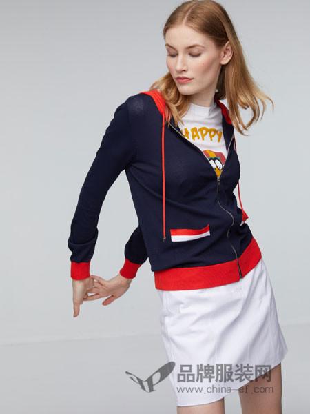 玛革诺施女装2018夏季休闲外套