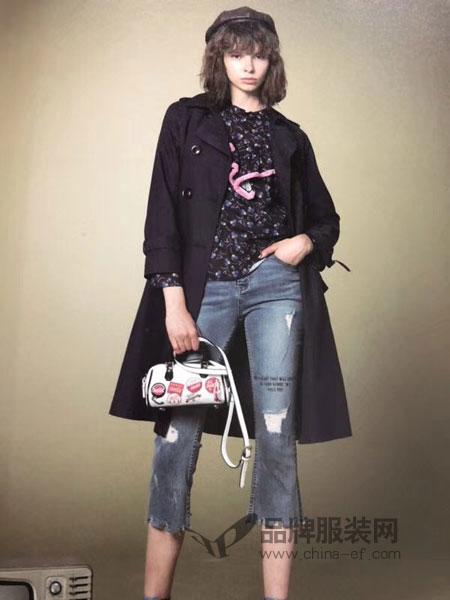 广州季歌大量供应品牌折扣女装秋冬货源超值
