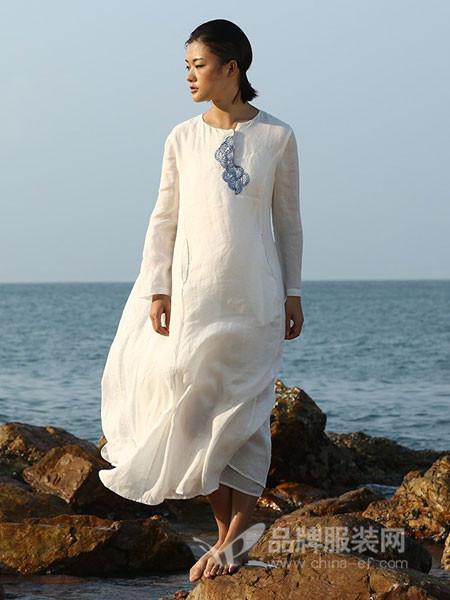 典禾女装夏季中国风长裙