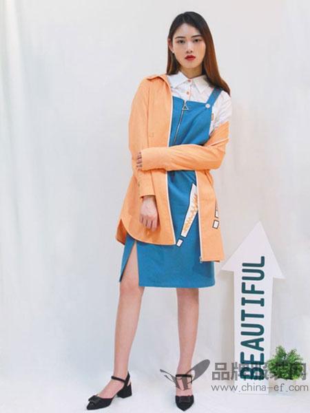 帝伦奴那女装2018秋季百搭宽松学生学院风休闲薄款外套