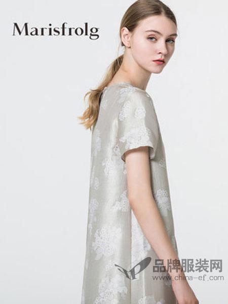 玛丝菲尔女装复古时尚两件套连衣裙2018夏季新款