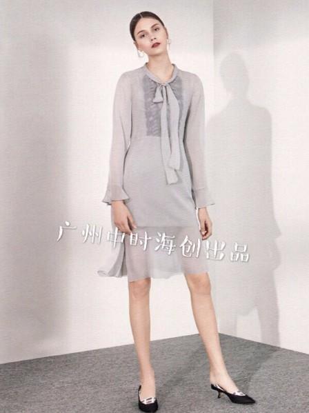 上海女装折扣个性品牌货源折扣走份尾货批发直播特卖一线知名女装