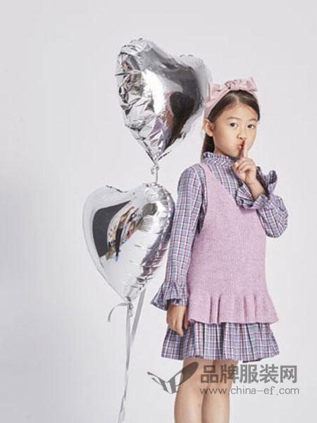 淘气贝贝/可趣可奇/艾米艾门童装2018春夏百搭实用针织毛线毛衣马甲背心