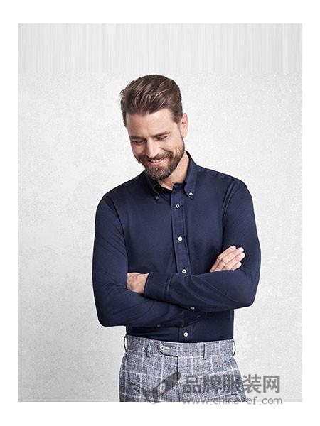 布克兄弟男装2018春夏职业衬衫