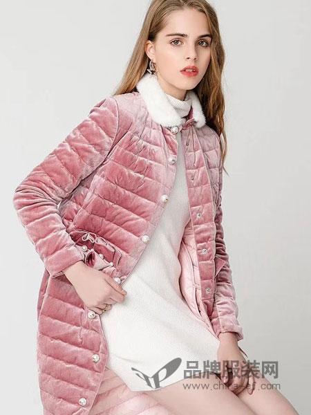 衣佰芬品牌女装女装2018秋冬时尚韩版修身清新小外套