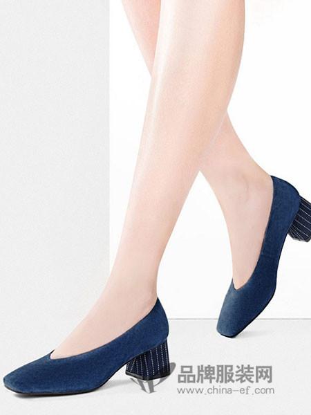 Lesaunda鞋2018冬季平底鞋低跟鞋