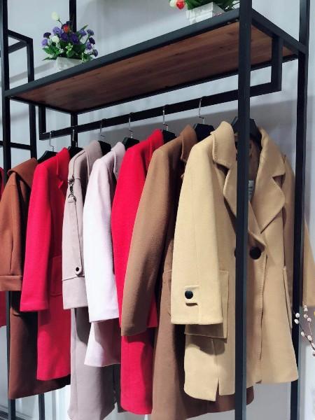 2018当季新款阿尔巴卡大衣双面羊绒大衣品牌折扣女装店进货
