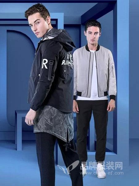 它钴TARGUO男装2018秋冬夹克男装韩版修身青年男士外套休闲