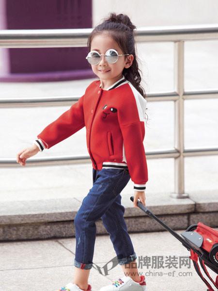 妈咪之星童装秋季棒球外套