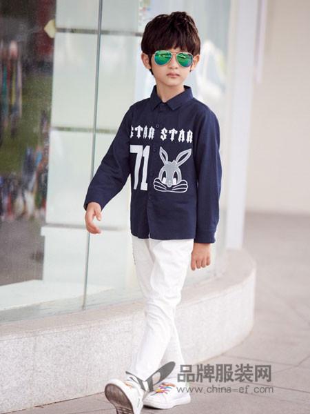 妈咪之星童装秋季衬衫