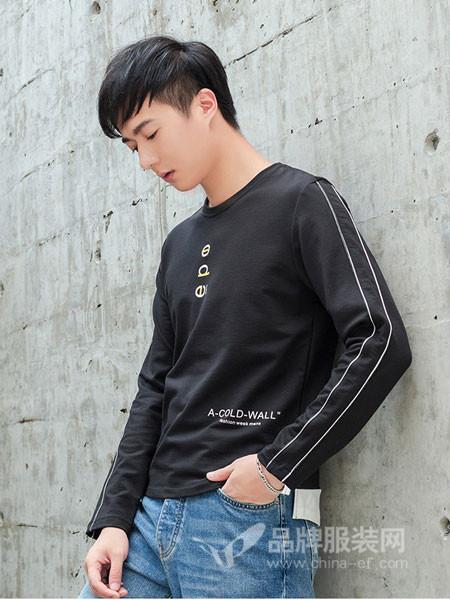 aopaiaxi奥派阿西男装2018秋季时尚卫衣