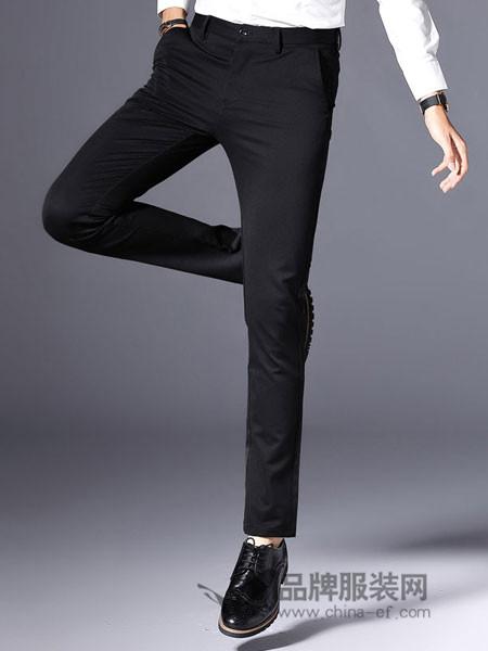 宝路联合 bomllunite男装2018秋季休闲裤