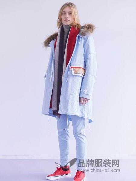 高桥盾男装2018冬季时尚休闲外套