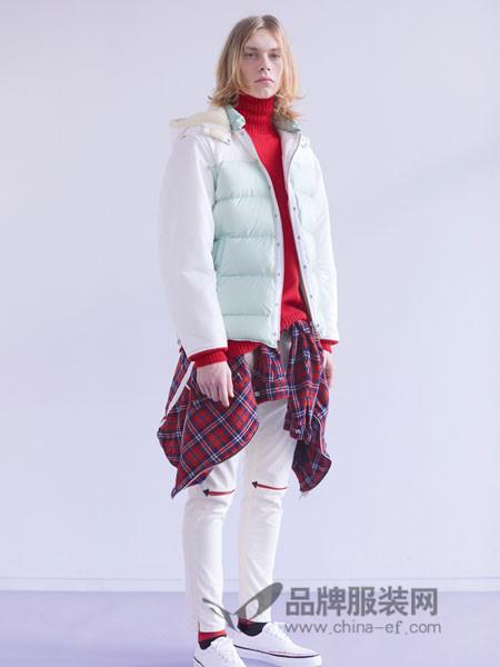 高桥盾男装2018冬季长款上衣