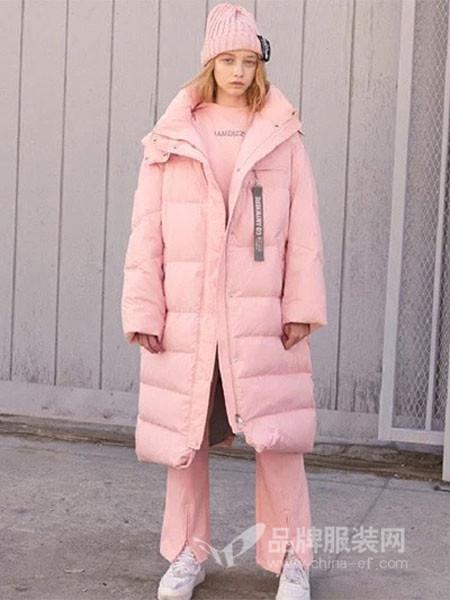 米摩雅女装2018冬季棉袄外套