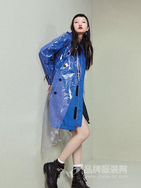 米摩雅女装2018冬季风衣
