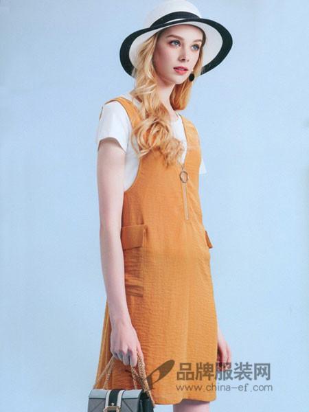 依库女装夏季时尚连衣裙