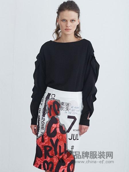 COCORYLLY女装秋冬个性卫衣