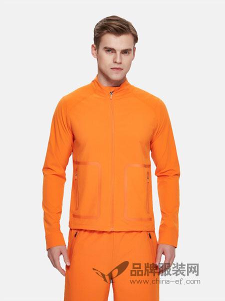Calvin Klein休闲2018春夏新款 男士梭织无帽运动长袖外套