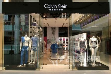 Calvin Klein店铺展示