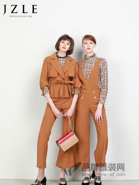 珈姿·莱尔女装2018秋冬新款韩版中长款收腰修身显瘦风衣